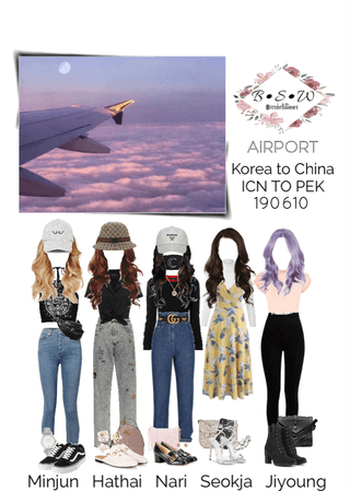 BSW Airport Fashion: ICN to PEK 190610