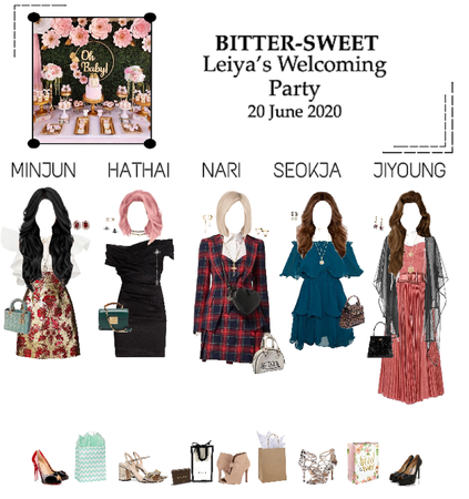 BITTER-SWEET [비터스윗] Leiya's Welcoming Party 200620
