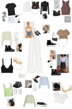 12 Ways to Style Polka Dot Pants
