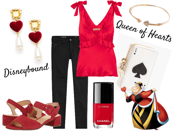 Queen of Hearts Disneybound