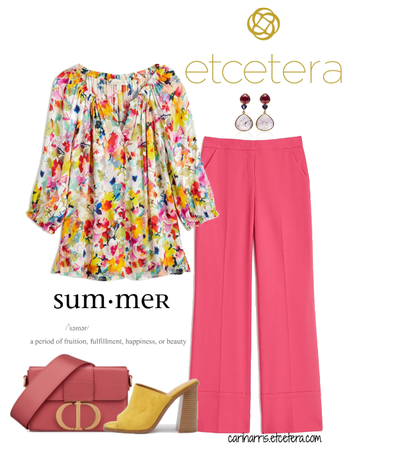 ETC Summer 2020: Rose Arbor and Hot Pink Pant