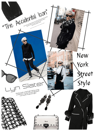 The accidental icon/Lyn Slater/NY Street Fashion