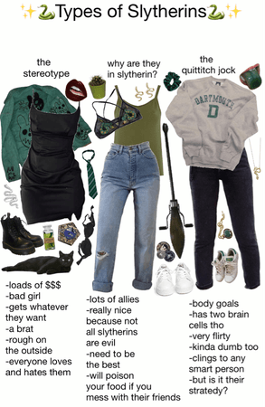types of Slytherins