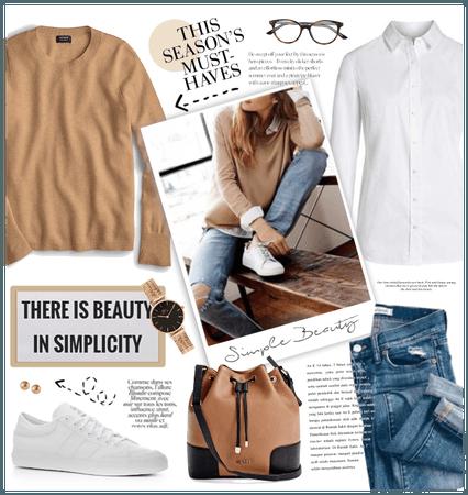 Fall Basics: Camel Sweater