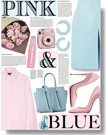 pink & blue mood 💗💙