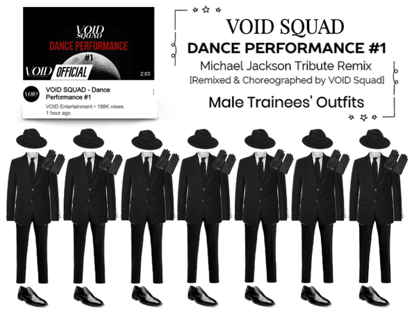VOID SQUAD - Dance Performance #1 | Male Trainees