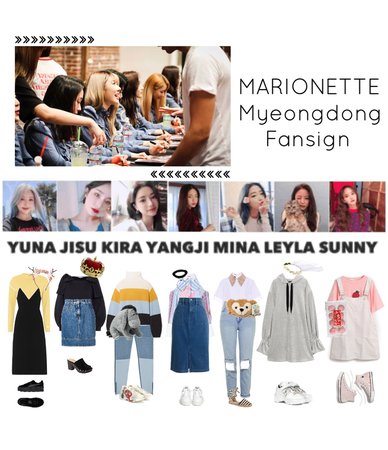 {MARIONETTE} Myeongdong Fansign
