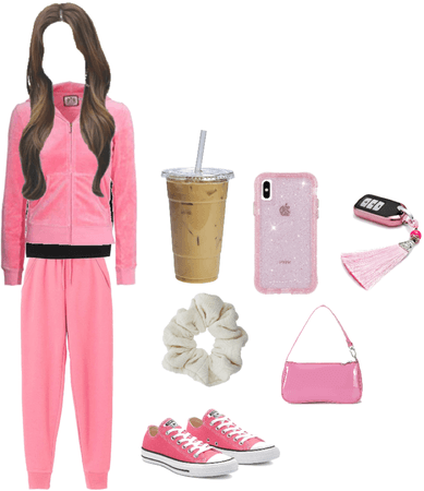 Pink Comfy Saturday Afternoon