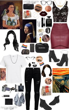 Museum Lesbian Date Night.