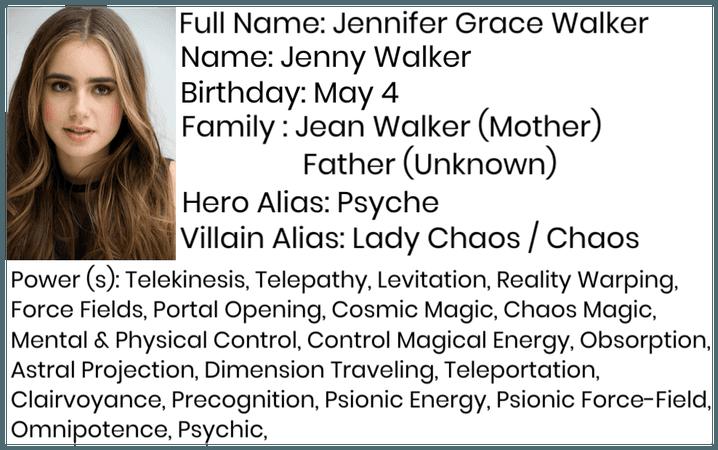 Jenny Walker (MCU/DCU)