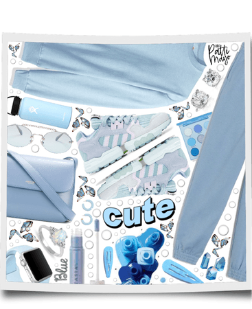 CUTE BLUE MONOCHROME 🥶🥶