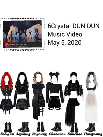 6Crystal DUN DUN MV