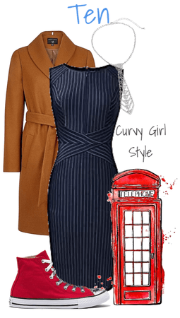 Comic-Con Style: Doctor Who, 10th Doctor (David Tennant) (Curvy Girl Style)