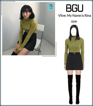 BGU Vlive: My Name is Rina