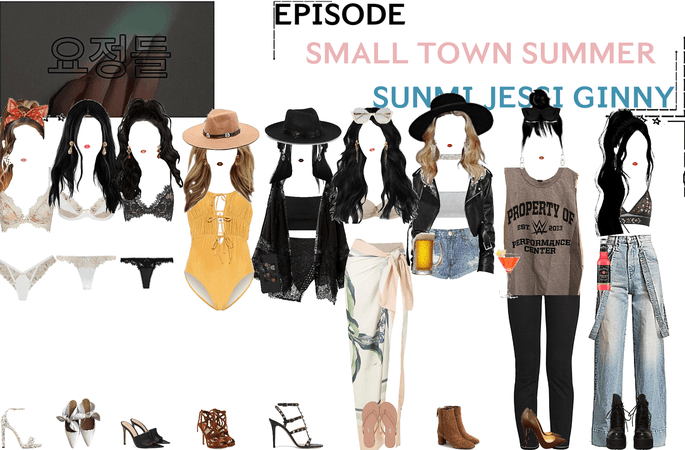 FAIRYTALE EPISODE 4: SMALL TOWN SUMMER | JESSI SUNMI GINNY SCENES