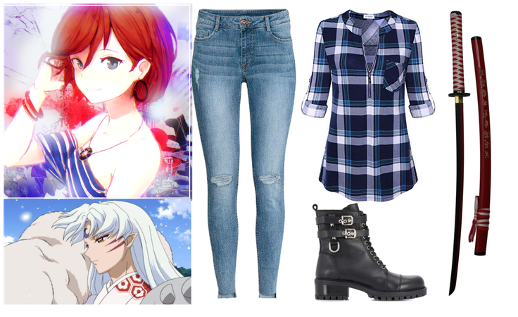 Inuyasha OC (Original) Outfit 1
