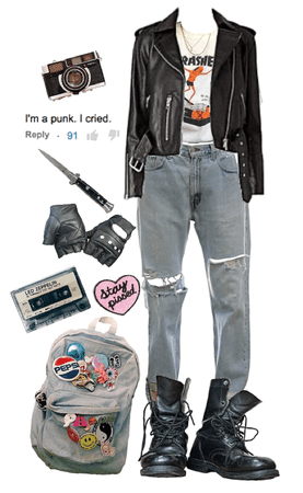 leather jacket's all you need