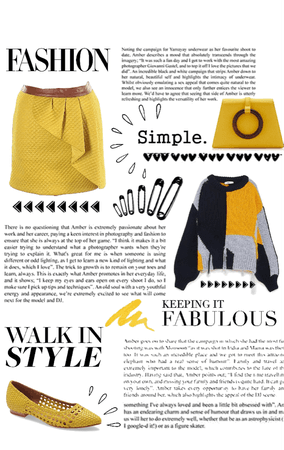 Simple Yellow Outfit