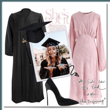 Virtual graduation.