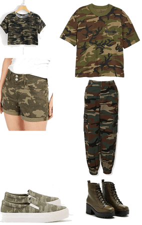 cute Camouflage day