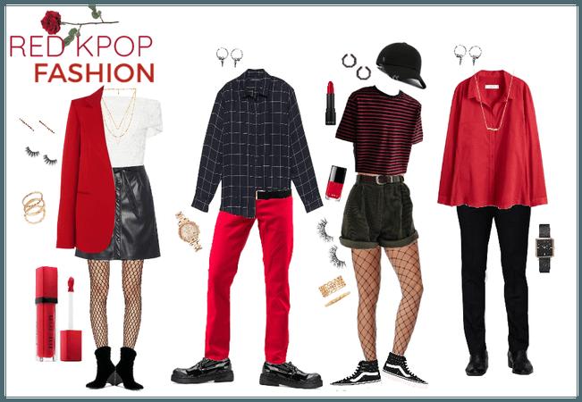 Kpop Fashion (Red)