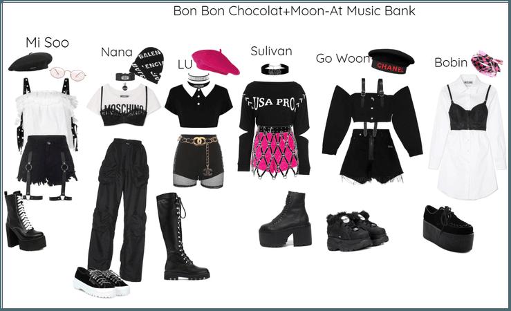 Bon Bon Chocolat+Moon-At Music Bank