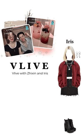Vlive- Zhixin and Iris