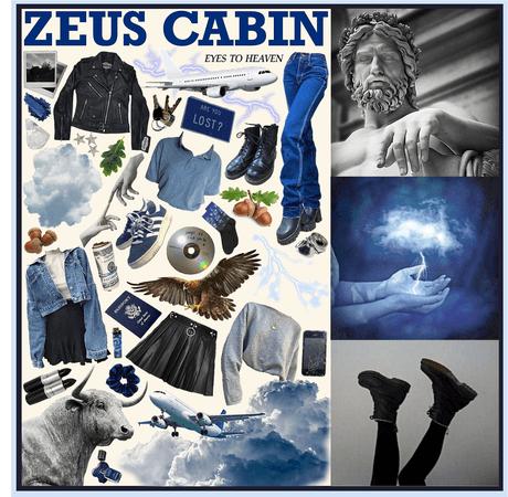 CAMP HALFBLOOD: Zeus Cabin