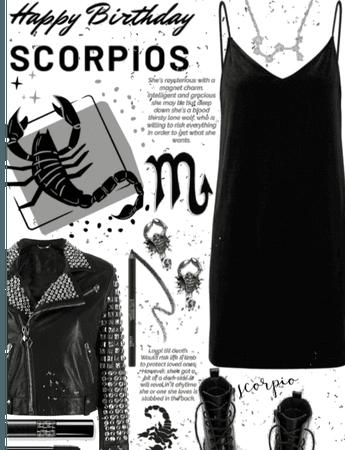 Scorpio birthday girls