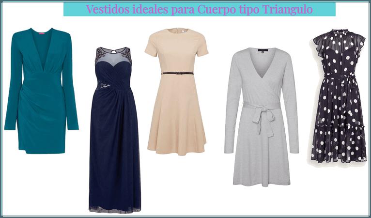 Vestidos para cuerpo tipo triangulo