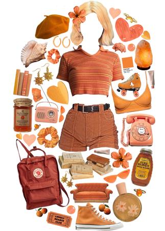 peachy warm springtime
