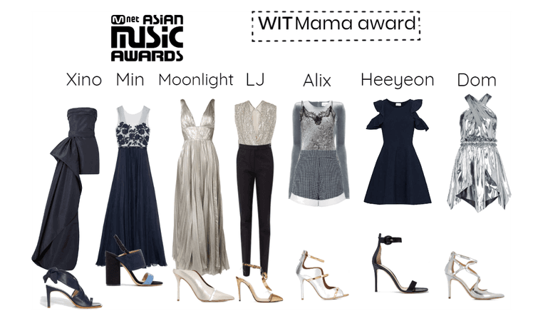 WIT (KPOP) - MAMA Red carpet