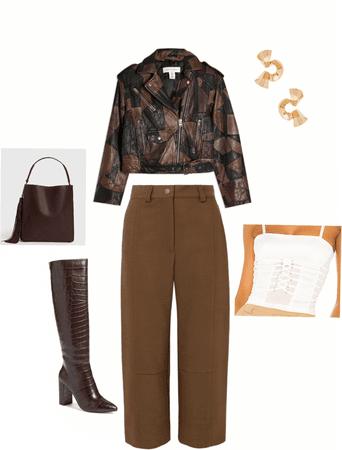 Monochromatic brown