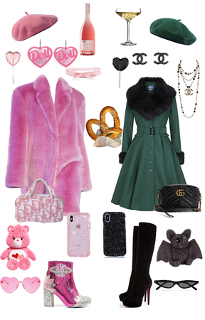 Fancy Colorful Pretty Winter Coat Outfits