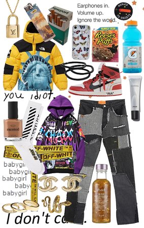 ☽ HYPEBEAST OUTFIT (UNISEX)
