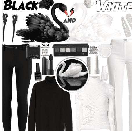 Black And white| opposites| @sadcherrysoda
