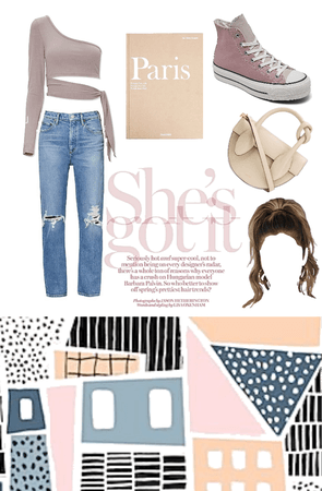 super cute teens/women's styled earth toned outfit 🌸