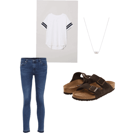 Summer/fall transition outfit