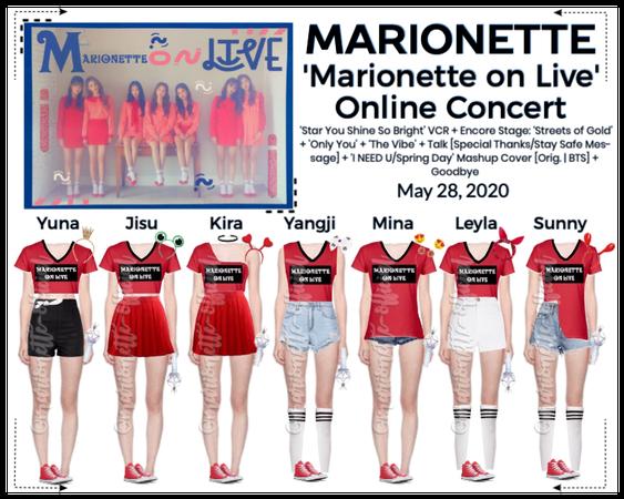 MARIONETTE (마리오네트) Live Online Concert