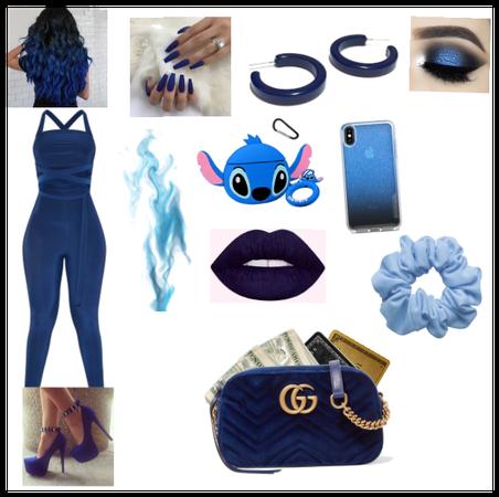 Blue Baddie
