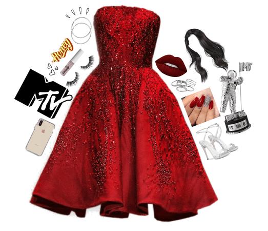 VMA's Red Carpet Style