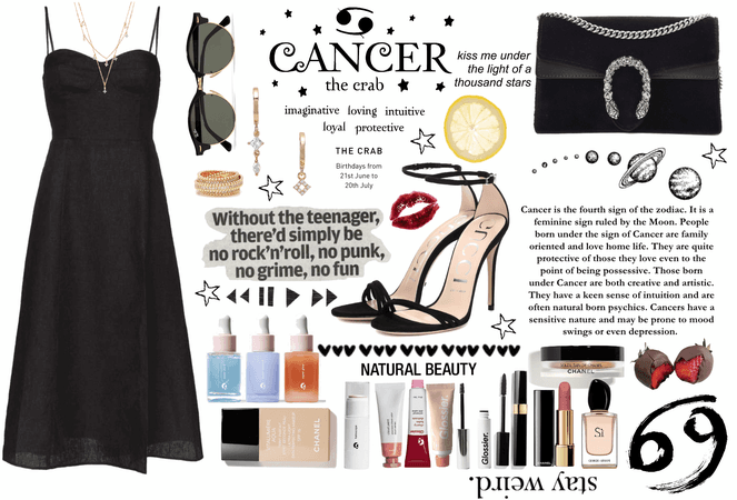 Cancer style: a mysterious girl