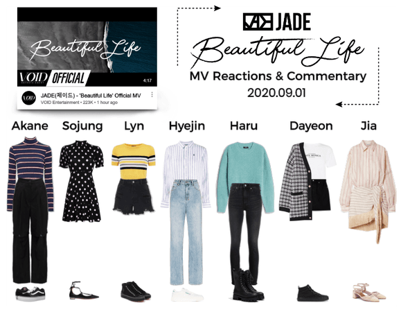 "JADE ""Beautiful Life"" MV Reactions & Commentary"