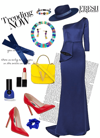 Pantone Color of the Year Classic Blue With Primary Colors