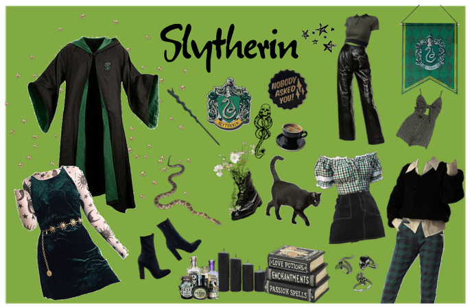 Slytherin - Inspo for a hogwarts student