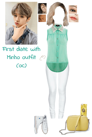First date with Minho outfit (oc)