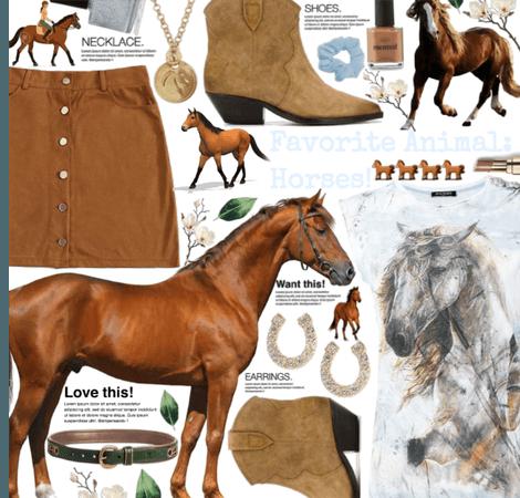 Horses, horses, horses!! 🐎🐎🐎👌