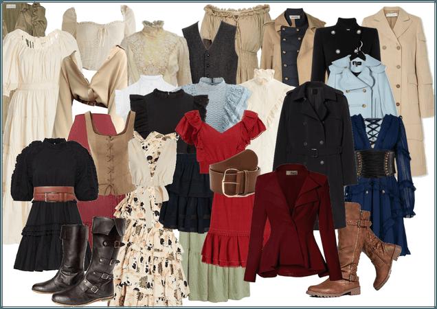 pirate wardrobe
