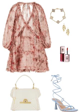 outfit estilo romántico