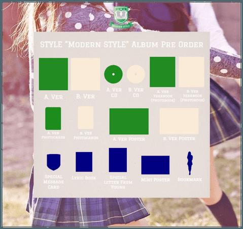 "STYLE ""Modern STYLE"" Album Pre Order"